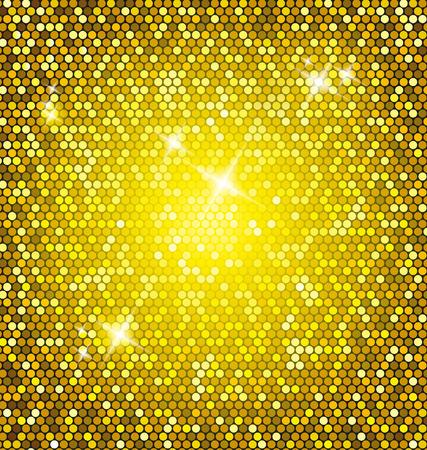Golden glitter background Stock Vector - 29116445