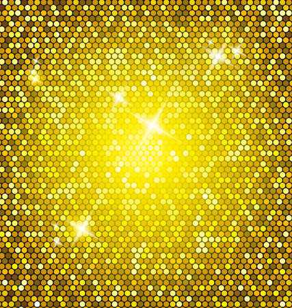 Golden glitter background Stock Vector - 29116445