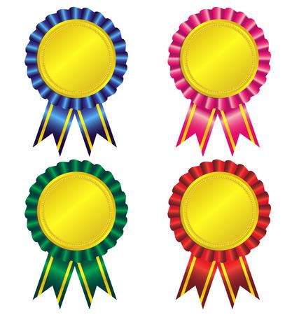 Set di nastro vector award Archivio Fotografico - 30006551