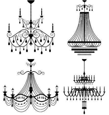 irradiate: Chandelier lamp