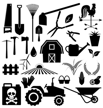 Agricultural equipment and farm set