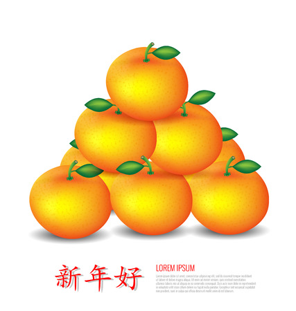 mandarin oranges: Chinese New Year Mandarin oranges