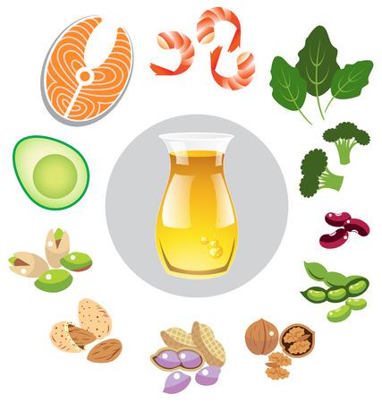gordo: Las mejores fuentes de omega 3 vectorial
