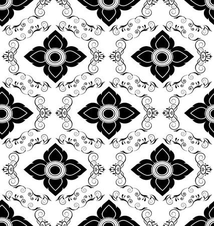 tile pattern: Luxury vintage seamless pattern