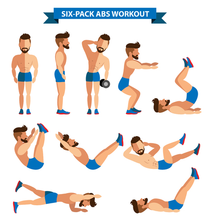 Six-Pack Abs Workout for men for men exereise at home