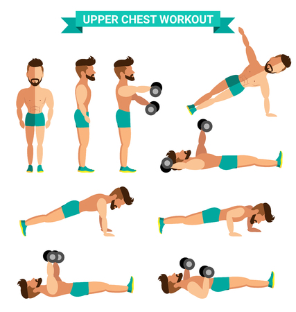 The Best Upper Chest Workout for men exereise at home