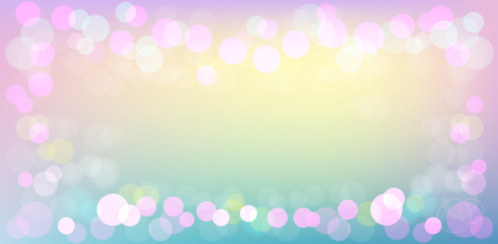 Abstract Pink Background Pastel Colors background with bokeh lights Иллюстрация