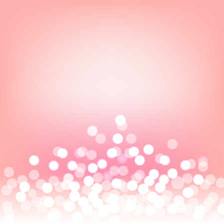 Luxury pink bokeh and lights abstract background