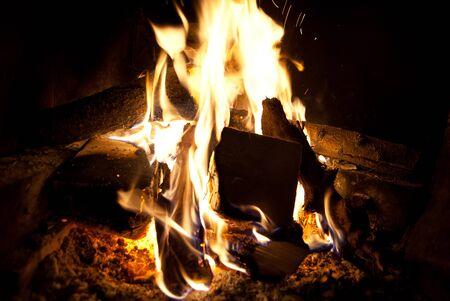 fireplace: Fireplace New Year