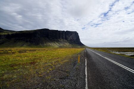 nowhere: Iceland road to nowhere
