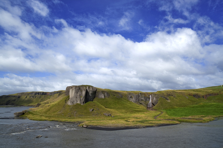 breadth: Icelandic canyon with river