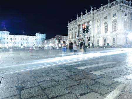 Turin by night