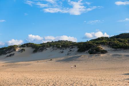Piscinas beach in Sardinia Stock Photo