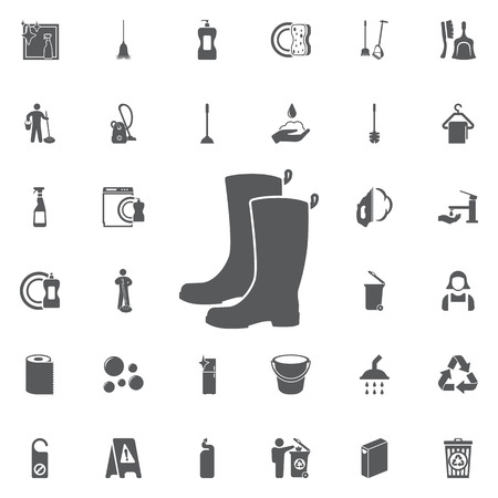 Boots icon on a white background
