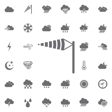 wind cone icon. Weather icons universal set for web and mobile