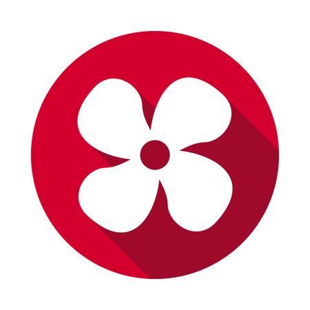 Fan dashboard flat icon