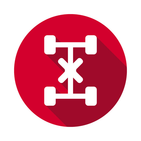 Dashboard flat icon