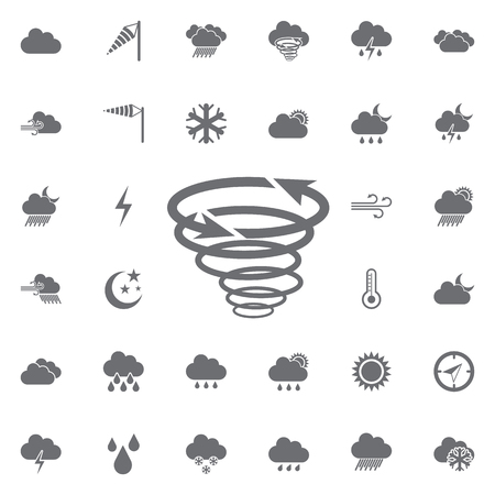 Strom icon. Weather icons universal set for web and mobile