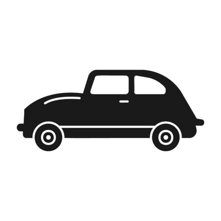 Car icon. Simple vector transport icons for ui and ux, website or mobile application on white background