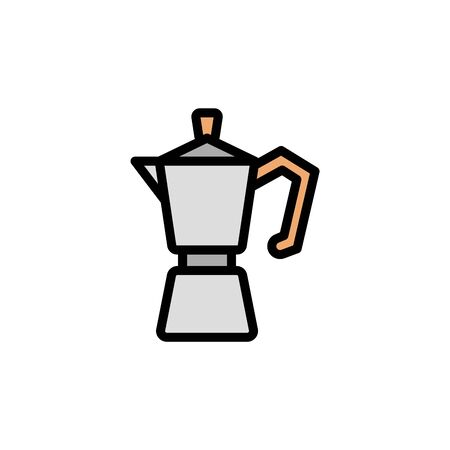 Juicer colored icon. Simple color element illustration. Juicer concept outline symbol design from Bar set. Can be used for web and mobile on white background