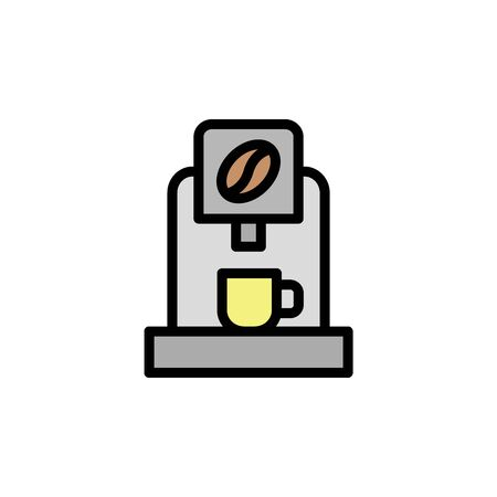 Espresso maker colored icon. Simple color element illustration. Espresso maker concept outline symbol design from Bar set. Can be used for web and mobile on white background
