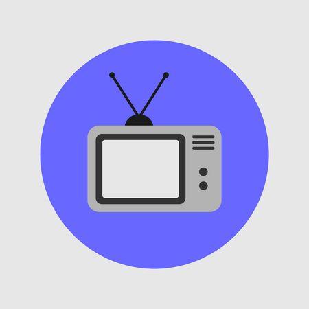 TV Icon Vector Illustration Design