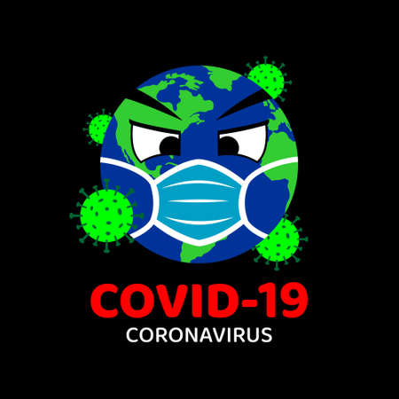 Corona Virus (COVID-19) Vector Illustration Design