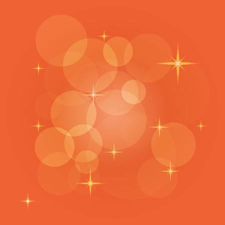 creating: Abstract vector background with bokeh, light flares, stars and other elements. Color illustration for creating printed materials and web design. Blurry bubble light wallpaper. Stock Photo
