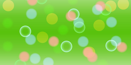 Abstract vector background with bokeh, light flares, stars and other elements. Color illustration for creating printed materials and web design. Blurry bubble light wallpaper. Stock Photo
