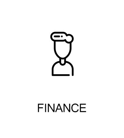 gender identity: Finance icon. Single high quality outline symbol for web design or mobile app. Thin line sign for design logo. Black outline pictogram on white background