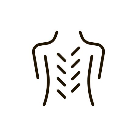healing: Massgae circle flat icon. Single high quality outline symbol of spa for web design or mobile app. Thin line signs of beauty for design logo, visit card, etc. Outline logo of massage