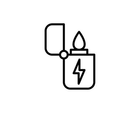 Lighter premium line icon. Simple high quality pictogram. Modern outline style icons. Stroke vector illustration on a white background.