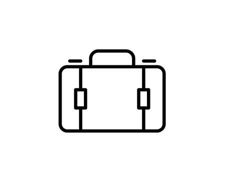 Suitcase premium line icon. Simple high quality pictogram. Modern outline style icons. Stroke vector illustration on a white background