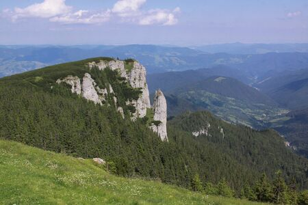 The Ceahlau Massif is one of the most beautiful mountains in Romania. You would find it a very good hiking destination as there are marked trails built for hikers and tourists.
