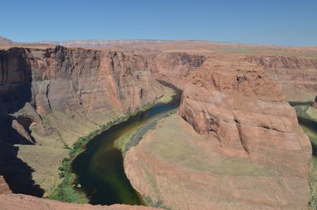 Horse Shoe Bend. Colorado River. Geology. June 24, 2017. Utah. EEUU. USA. Editorial
