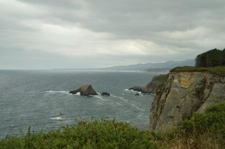 Impressive Cliffs At Cape Busto.