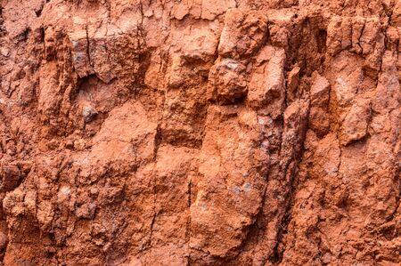 Volcanic Argillaceous Red Sand Ideal For Screensavers And Wallpaper On The Island Of La Gomera. April 15, 2019. La Gomera, Santa Cruz de Tenerife Spain Africa. Travel Tourism Photography Nature.