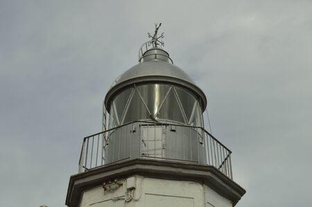 Llanes lighthouse Фото со стока - 40544287