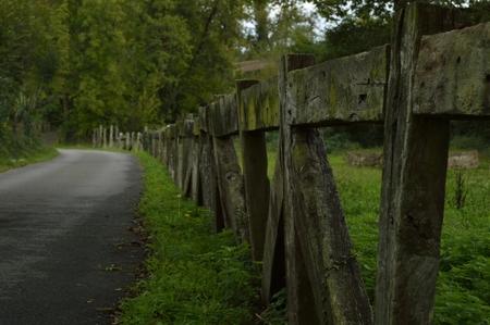road Archivio Fotografico