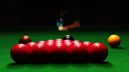 snooker: Snooker Playing