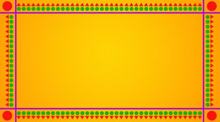 nice background: Celebration Greetings on Yellow Background Stock Photo