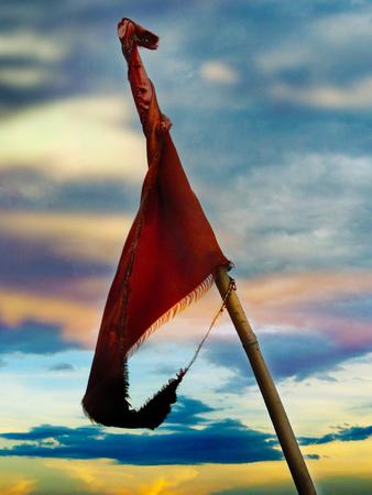 devotional: Red Devotional Hindu Flags