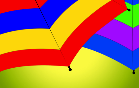metal pettern: Colorful Umbrella CloseUp Nice Abstract Composition