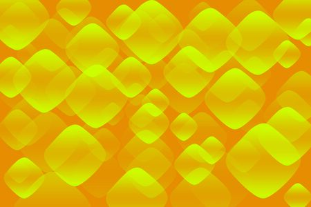 rounded rectangle: Orange Abstract Background with Yellow Rounded Rectangle Bubbles
