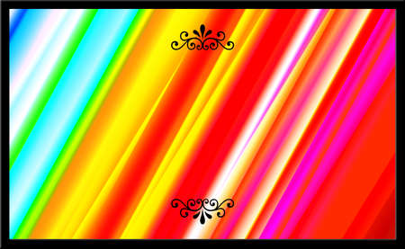 striped band: Abstract Colorful Composed Background with Stripes Effect