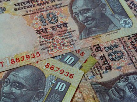 five rupee: Macro Shot of Indian Rupee Bank Notes