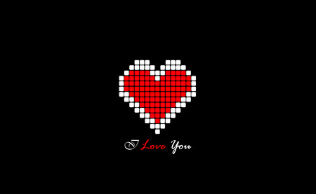 Abstract Hearts Cool Valentine Day Creative Background Stock Photo Awesome Heart Cool Love