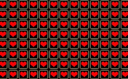 14 feb: Abstract Hearts Cool Valentine Day Creative Background