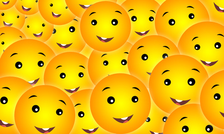 smileys: Seamless Vector Smileys Faces
