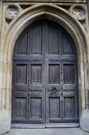 Old church Door photo
